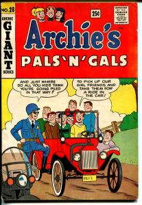 Archie's Pals 'n' Gals #28-1964-Betty-Veronica-Giant Edition-pin-ups-VG