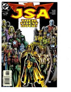 4 JSA DC Comic Books # 38 42 54 55 Flash Green Lantern JLA Superman Atom BH25