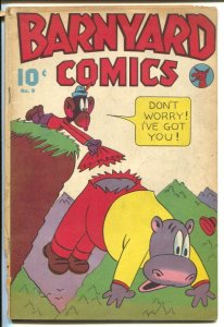 Barnyard Comics #9 1946-Nedor-Lynnn Karp-Don Arr-Jack Bradbury-wacky Funny An...
