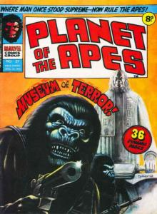 Planet of the Apes (Marvel UK) #27 FN; Marvel UK | save on shipping - details in