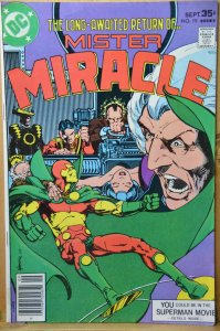 Mister Miracle #19 (1977) Hot Title !!!