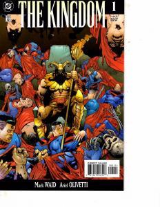 Lot Of 2 Comic Books DC Kingdom #1 and 2 Batman Superman LH17