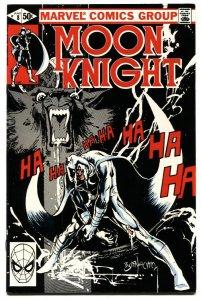 Moon Knight #8 1981-Bill Sienkiewicz-comic book NM-
