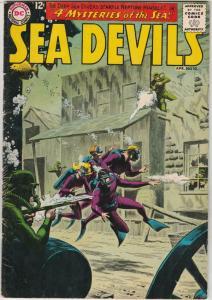 Sea Devils #10 (Apr-63) FN/VF Mid-High-Grade Sea Devils (Dane Dorrence, Biff ...