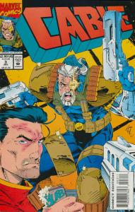 Cable #3 VF/NM; Marvel   save on shipping - details inside