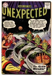 TALES OF THE UNEXPECTED #49 1960 DC SPACE RANGER HEATH VG-