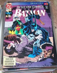 DETECTIVE COMICS  # 665 BATMAN 1993  DC  ROBIN-KNIGHTFALL PT 16 azrael