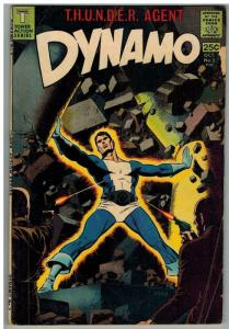 DYNAMO 2 G-VG WOOD Oct. 1966 COMICS BOOK
