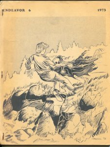 Endeavor #6 1973-Kurt Erikson-Paul Chadwick-#47 of limited printing-88 pages-VG