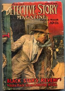 Detective Story Pulp November 5 1916- Yellow Claw- Sax Rohmer-
