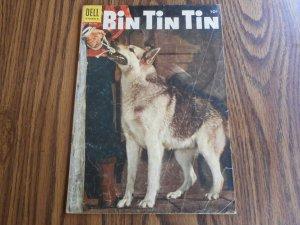 RIN TIN TIN # 7 1955 NICE 65 YEAR OLD COPY!!
