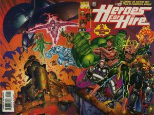 HEROES FOR HIRE (1997 MARVEL) #1 NM- AGSQCA