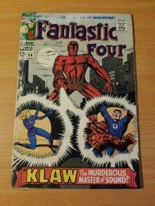 Fantastic Four #56 ~ VERY GOOD VG ~ (1966, Marvel Comics)