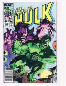 The Incredible Hulk #298 VF Marvel Comics Comic Book Aug 1984 DE23