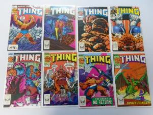 The Thing, Set:#1-36, 33 Different, Average 8.5/VF+ (1983)