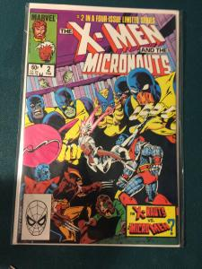 The X-Men and The Micronauts 2 of 4