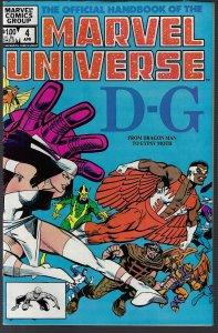 Marvel Universe #4 (Marvel, 1983) NM