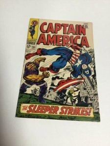 Captain America 102 Vg+ Very Good+ 4.5 Marvel Comics Silver Age