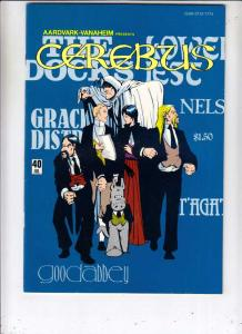 Cerebus #40 (Jul-82) NM- High-Grade Cerebus the Aardvark