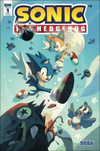 Sonic the Hedgehog (IDW) #1C VF/NM; IDW | save on shipping - details inside