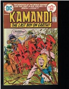 Kamandi, The Last Boy on Earth #26 (1975)