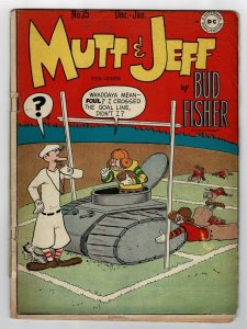 Mutt And Jeff 25