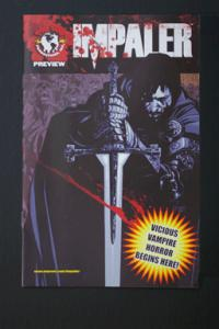Impaler/Black Vault Top Cow Flip Comic Preview July 2008