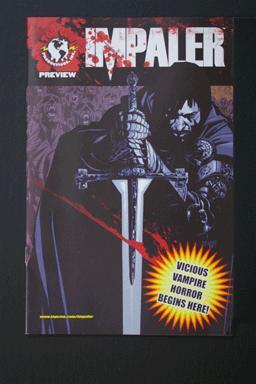 Impaler/Black Vault Top Cow Flip Comic Preview July 2008