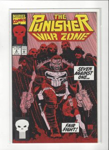 The Punisher War Zone #8 (1992) John Romita Jr. Marvel Comics NM