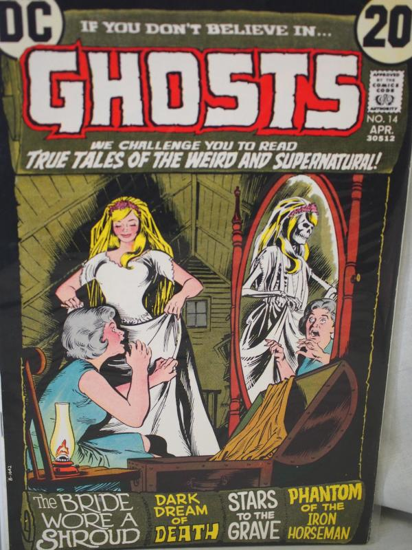 If You Don't Believe in Ghosts 14 F/VF condition.  1973