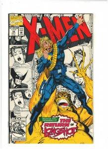 X-Men #10 NM- 9.2 Marvel Comics Jim Lee 1992 Longshot vs. Mojo