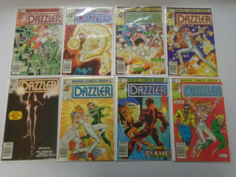 Dazzler Comic Lot Near Set #1-42 + Appearance Issue 42 Diff Books 5.0 (1981-86)