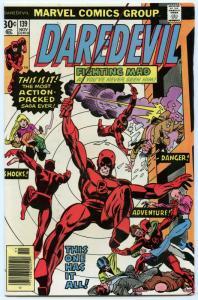 Daredevil 139 Nov 1976 FI (6.0)