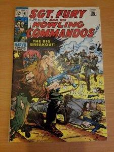 Sgt. Fury #61 ~ VERY GOOD - FINE FN ~ (1968, Marvel Comics)