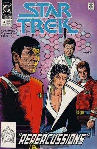 Star Trek (4th Series) #4 VF; DC   save on shipping - details inside