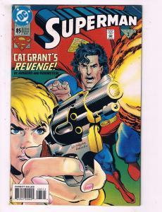Superman #85 VF DC Cat Grant's Revenge Comic Book Jurgens DE10
