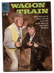 Wagon Train #5 1960- Dell TV Western- Robert Horton VF