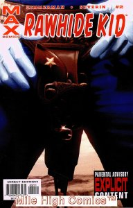 RAWHIDE KID (2003 Series)  (MARVEL MAX) #2 Very Good Comics Book