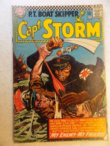 CAPT. STORM # 15 DC WAR ACTION GD/VG