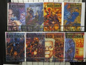 Black Summer by Warren Ellis and Juan Jose Ryp (Avatar 2007) #1-7