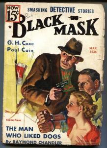 Black Mask May 1936 - Raymond Chandler - Rare - VG-