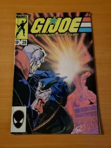 G.I. Joe A Real American Hero #29 65c Variant ~ NEAR MINT NM ~ (1984, Marvel)