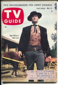 TV Guide 5/2/1959-Kentucky Issue-Hugh O'Brian-Wyatt Earp-Willard Mullin-VG
