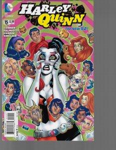 Harley Quinn #15 (DC, 2015) NM-