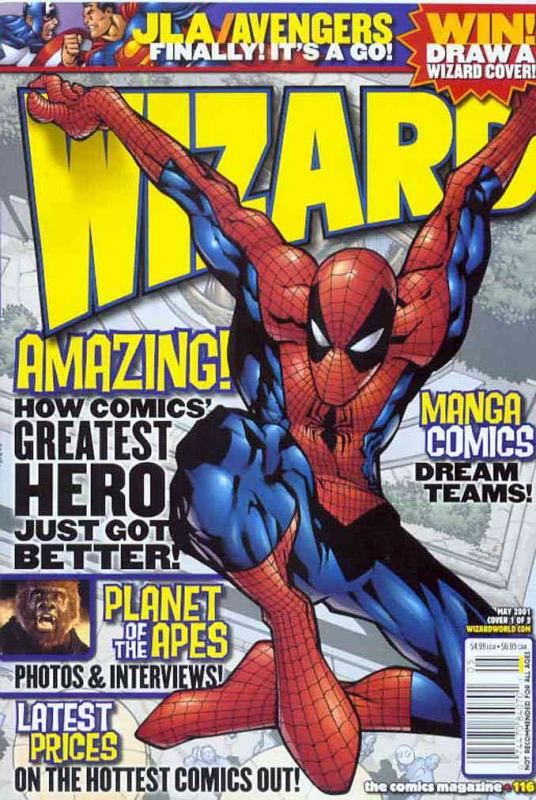 Wizard: The Comics Magazine #116A FN Wizard - save on shipping - details inside
