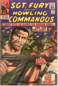 SERGEANT FURY 23 VG-F Oct. 1965 COMICS BOOK