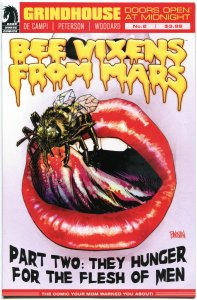 GRINDHOUSE #2, NM, Bee Vixens from Mars, Femme Fatales, 2013, Dark Horse
