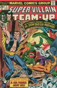 Super-Villain Team-Up #2 FN; Marvel | save on shipping - details inside