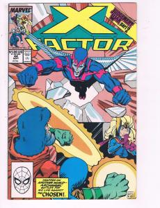 X-Factor #44 VF Marvel Judgement War Part 2 Comic Book 1987 X-Men Cyclops DE7