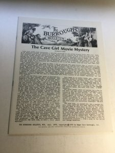 The Burroughs Bulletin 20 Nm Near Mint Magazine